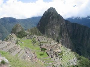 Macchu Piccu vista.