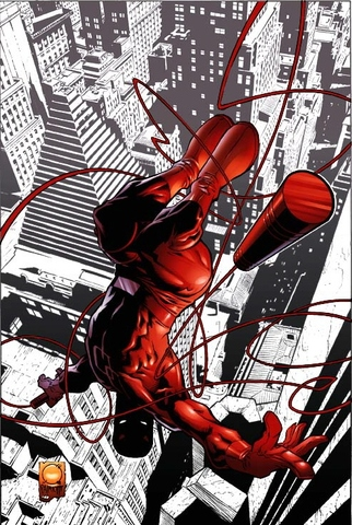 Daredevil cover.