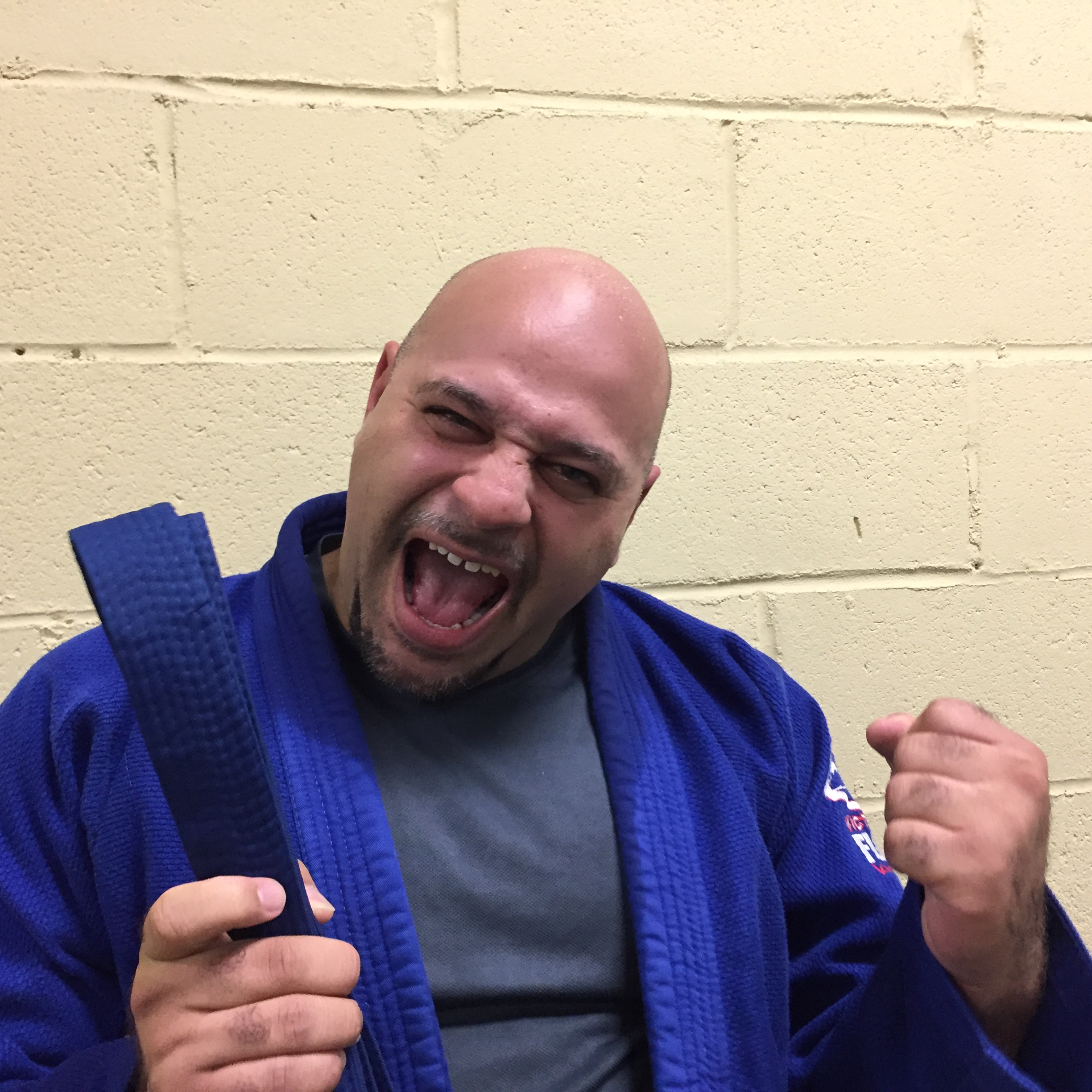 Blue belt earned.