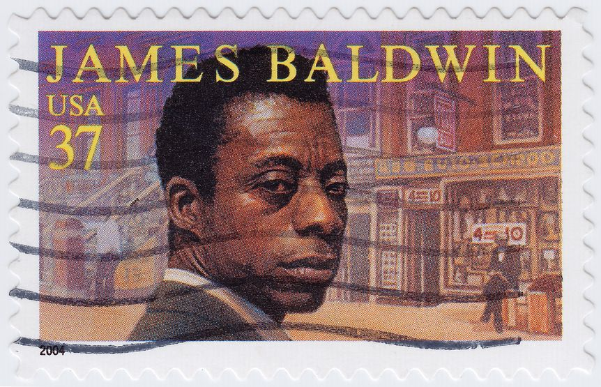 James Baldwin (Postal Stamp)