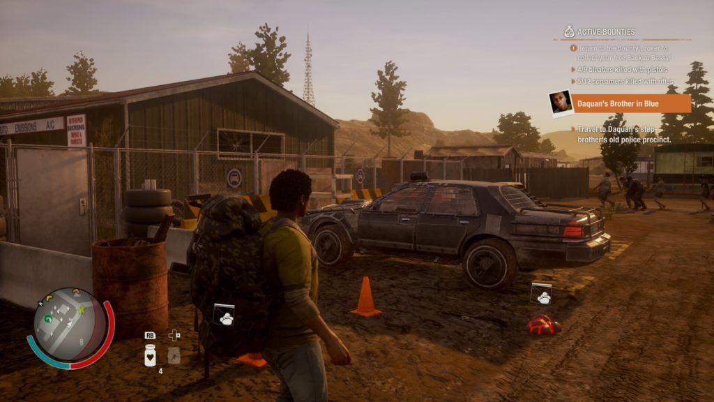 Post-apocalyptic zombie fighting vehicle